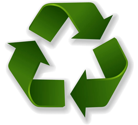 recykling opakowań - znak